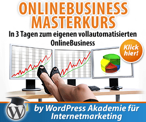 Der online Business Masterkurs für dein erfolgreiches Internet Business